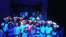 Discopeques-fiesta Fluor-baby Shower -fiesta Adultos Karaoke
