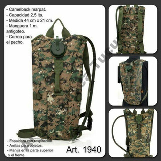 Camelblack Mochila Hidratante Militar