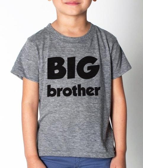 Playera Infantil Niño Con Diseñobig Brother Varias Tallas