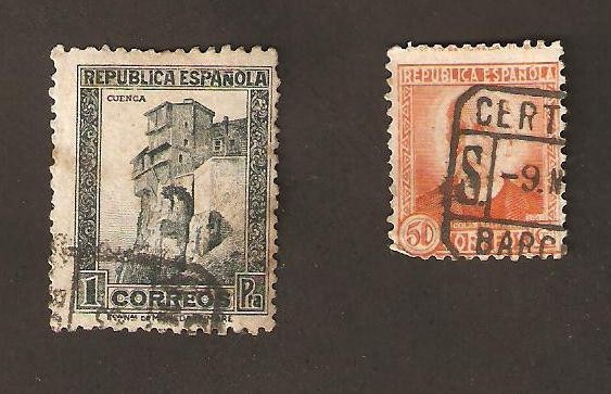 Estampilla España Celebridades 1931-1934