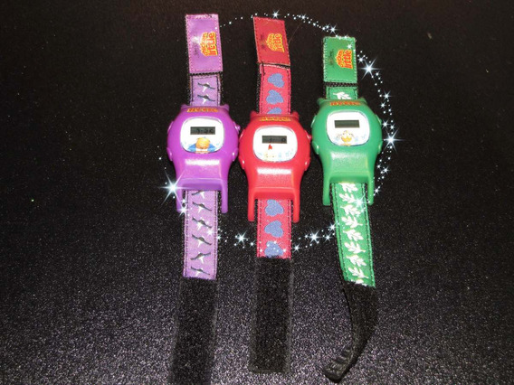 Ste De 3 Relojes Infantil De Disney Chicken Little Pollito