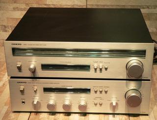 Amplificador Onkyo Integra A-7040 Y T-4040 Japan Flamante