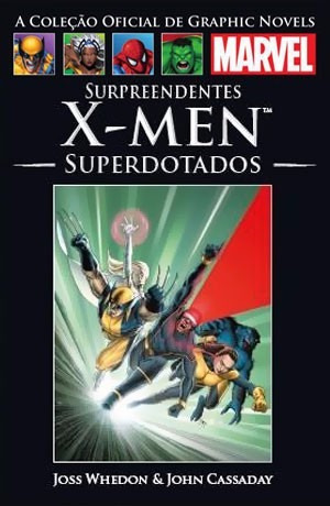 Hq Surpreendentes X-men Superdotados Salvat Capa Dura