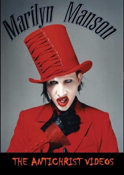 Dvd Marilyn Manson - The Antichrist Videos