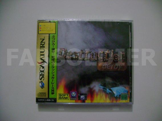 Destruction Derby Original Japonês Novo Lacrado!