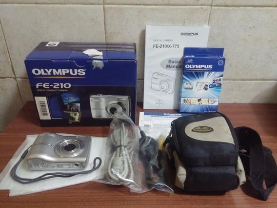Camara Digital Olympus Fe-210 7.1 Megapixel - Impecable