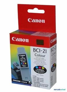 Cartucho Tinta Canon-bci-21 Color-20.1.270