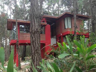 Casa En Mar Azul, Ohana Cabaña En El Bosque Verano
