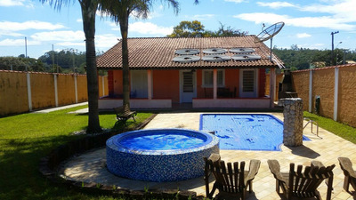 Casa Mobiliada Com Piscina Em Jarinu !