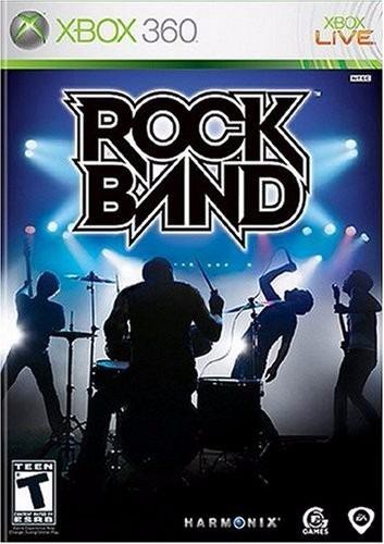 Rock Band Xbox 360 Juego Original Rockband Fisico