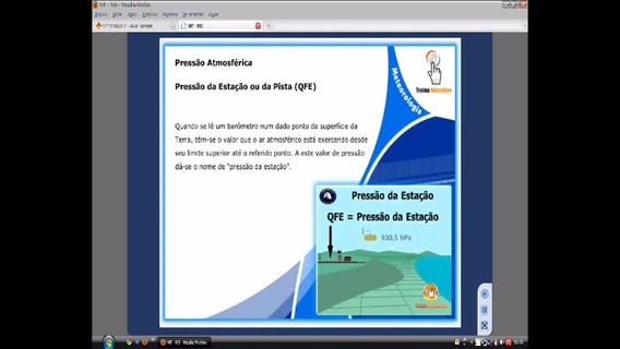 Curso Meteorologia Aeronáutica Para Piloto Privado Em Video