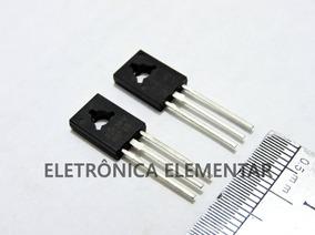4 Unidades Transistor Bd139 Ou Bd140 Original Frete 12