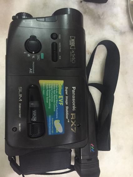 Filmadora Panasonic Nv-rx7 No Estado Nao Sei Funciona