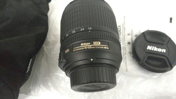 Lente Nikon 18x105mm.