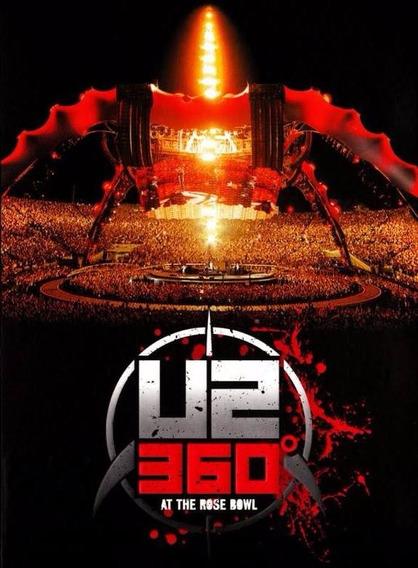 Dvd U2 360° At The Rose Bowl - Original