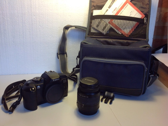 Câmera De Filme Canon Eos 5000, Lente 38-76 Canon + Filtro +