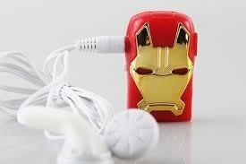 Reproductor Mp3 Ironman Auricular Incluido /usb Flash Disk $