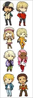 Plancha De Stickers De Anime De Tiger & Bunny Barnaby Kotets