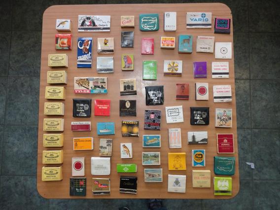 Estampitas Y Cajas De Fosforos Antiguos