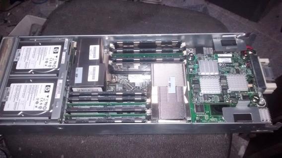 Servidor Hp Blade Bl460 G6 2x500 Hd 38gb Memoria (982a)