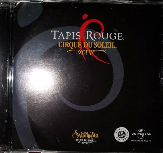 Cd Original Cirque Du Soleil - Tapis Rouge - Saltibanco