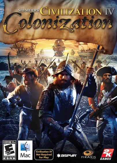 Game Lacrado Mac Importado Civilization 4 Colonization (usa)
