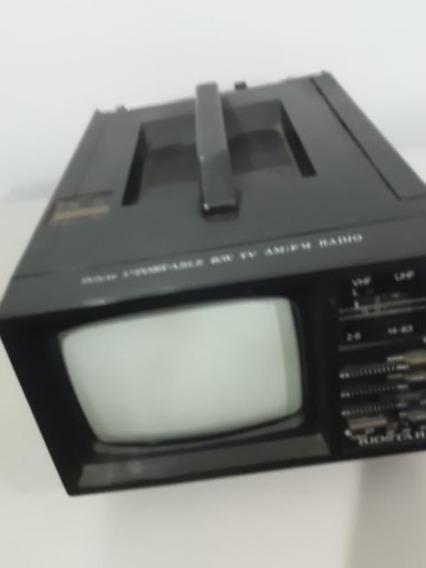 Tv Riostar 5 Polegadas Com Radio Am E Fm Funcionando