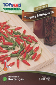 80 Sementes De Pimenta Malagueta Brasileira Frete Grátis
