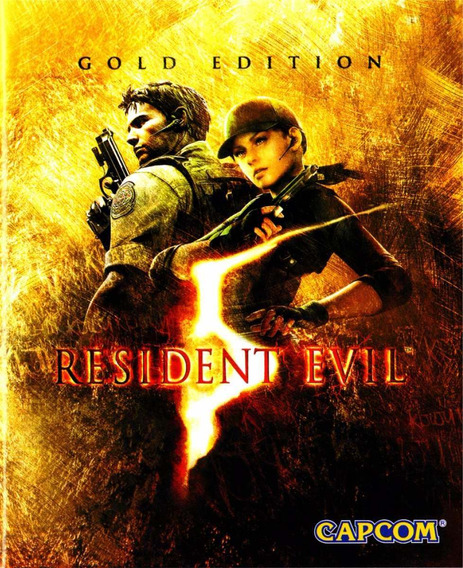 Resident Evil 5 Gold Edition Br ( Mídia Física) Pc