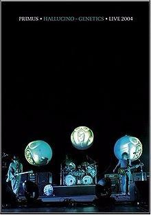 Primus - Hallucino Genetics Live 2004 Dvd Imp.