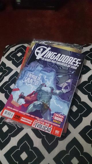 Vingadores Os Heróis Mais Poderosos Da Terra Panini N 2 Ao 4