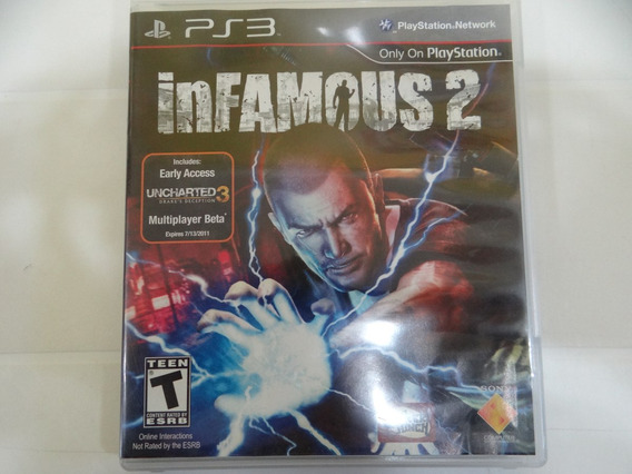 Infamous 2 -ps3 - Completo!