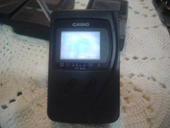 Mini Tv Casio Tv600 Lcd
