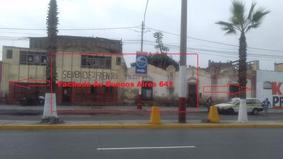 Remato Como Terreno 492 M2 En Zona Céntrica Del Callao.