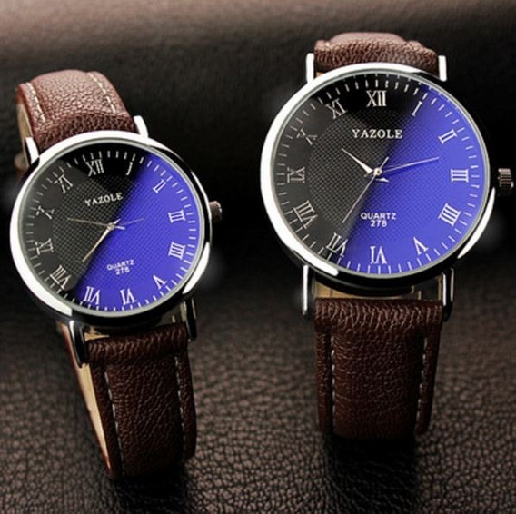 Relógio Importado Yazole 278 Quartz - Novo