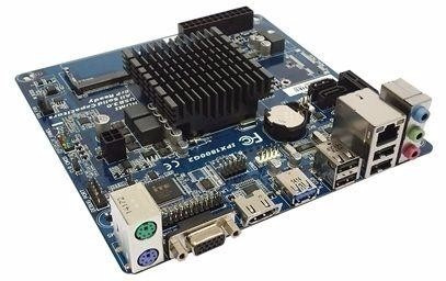 Placa Mãe Com Processador Intel Dual Core J1800 Ipx1800 G2