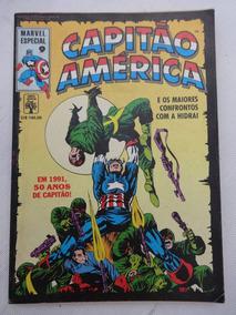 Marvel Especial Nº 9: Capitão América - Hidra - 1990