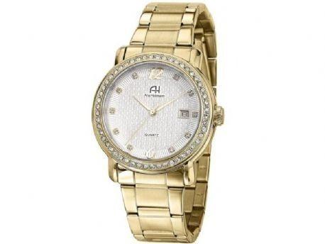 Relógio De Pulso Quartz Ana Hickmann Dourado Ah28615h P