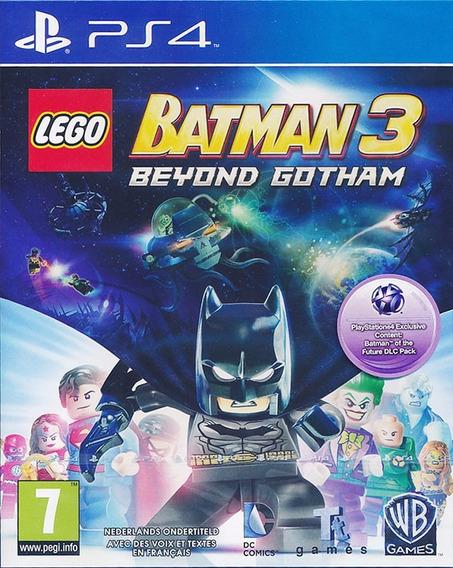 Lego Batman 3 Ps4 Psn // Digital Primaria