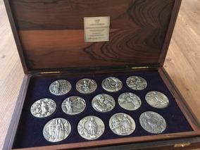 Coleção De Medalhas Em Prata Ouro Preto Collection