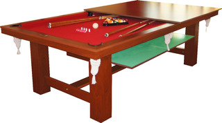Mesa De Pool Multifuncional Vecchio Pool 18 Cuotas