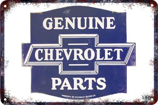 Poster Poster Cartel Antiguo Chapa 60x40cm Chevrolet Au-109