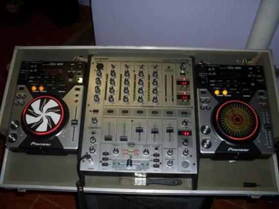Par Cdj Pionneer 400 E Mix Djx 700