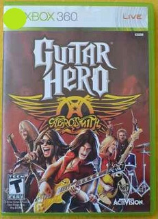 Guitar Hero Aerosmith Xbox 360 Play Magic
