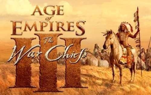 Age Of Empires Iii The War Chiefs (expanção) - Game Pc