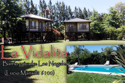 Cabañas La Vidalita, San Pedro, Bs. As.