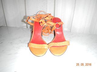 Sandalias Ferraro Color Naranja