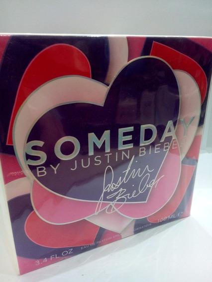 Perfume Someday By Justin Bieber 100 Ml Feminino Original