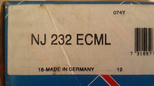 Rodamientos  Nj 232 Ecml