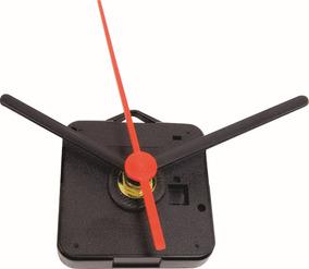 10 X Maquina Quartz 13mm P/relogio De Parede / Kit C/10 Pçs